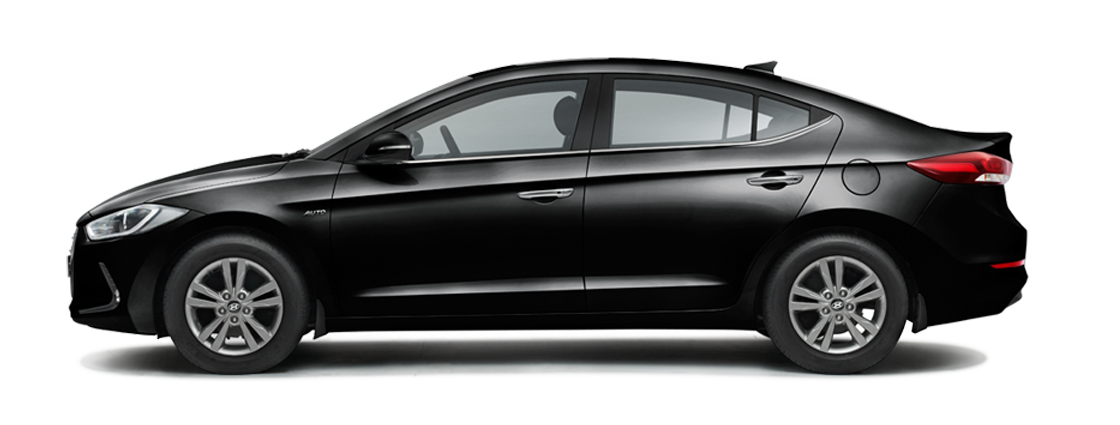 Hyundai Elantra Phantom Black