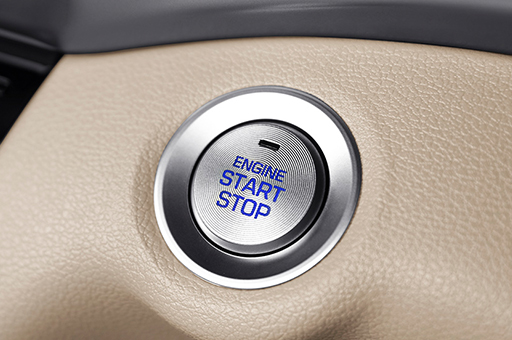 Elantra - Engine start stop button