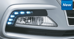 Xcent - Fog Lamps with LED DRL's