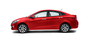 Hyundai Verna Red Passion