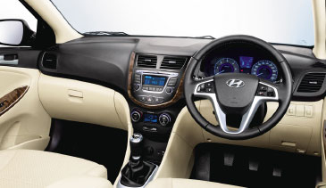 2016 Verna - Spacious Interior