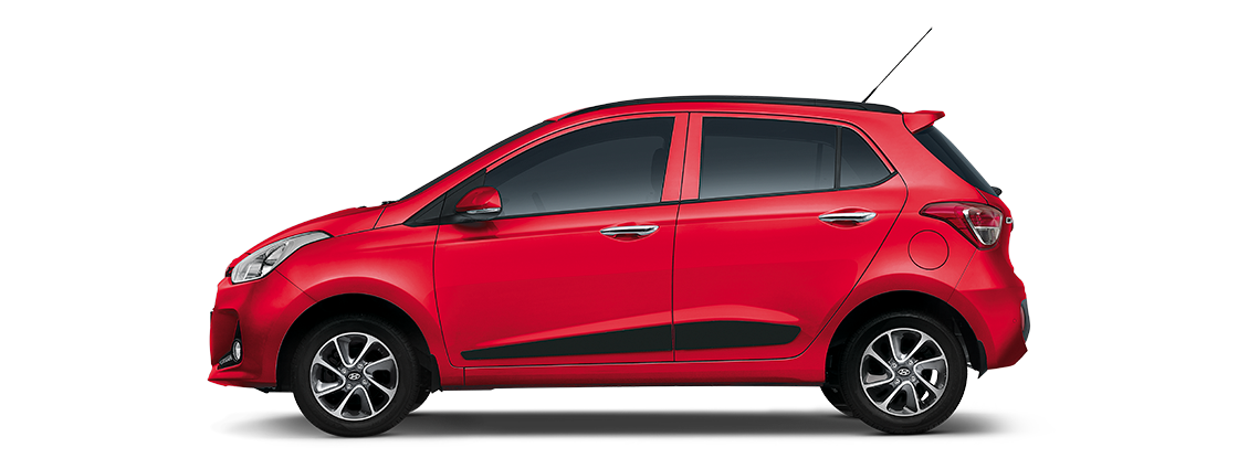 Buy Hyundai Grand i10 fiery-red from Modi Hyundai Mumbai