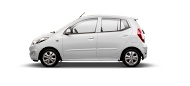 Hyundai i10 Sleek Silver - Modi Hyundai Showroom
