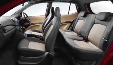 Hyundai i10 - Stylish Interior