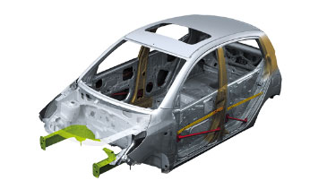 Hyundai i10 - Reinforce Body Structure
