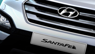 Santa Fe - Hexagonal chrome grille