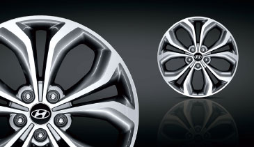Santa Fe - Diamond cut alloy wheels