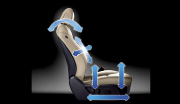 Santa Fe - 12 way power driver seat